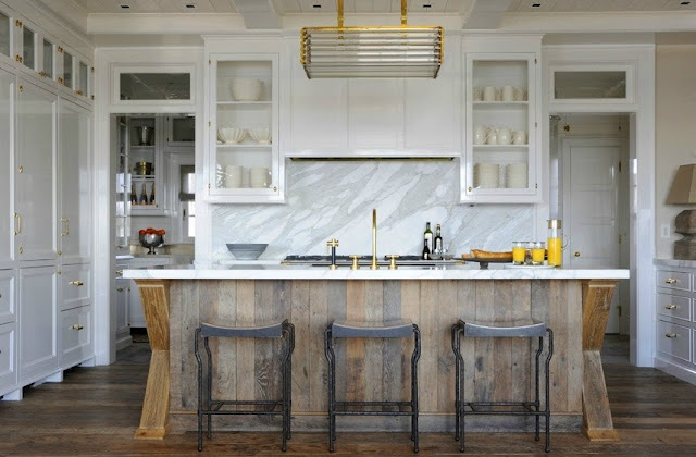 Stikwood reclaimed wood panels perfect for diyers driven by decor - Reclaimed wood kitchens ...