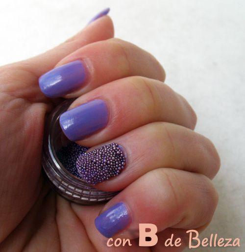 Tendencia uñas Esmalte caviar