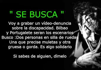 SE BUSCA / TE BUSCO
