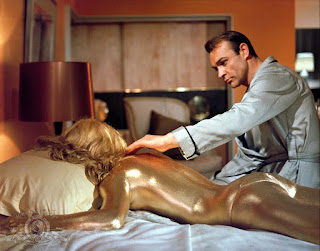 Goldfinger (and gold rest of her)
