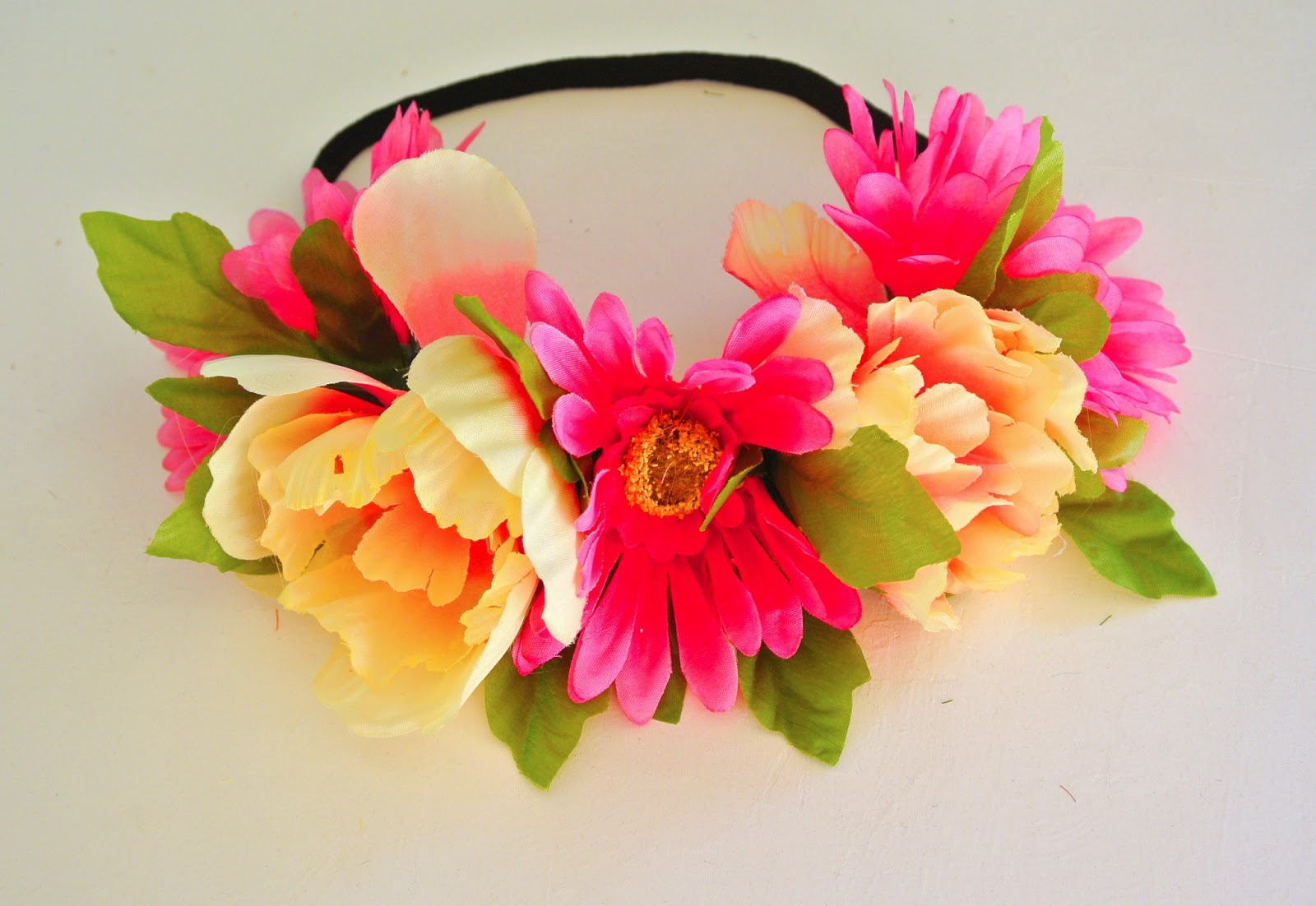 With love tiffany tutorial diy flower headbandcrown izmirmasajfo Images