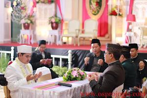 Do'a setelah akad nikah