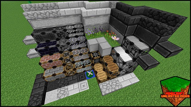 Hexxit Mod Pack ATLauncher Minecraft bloques