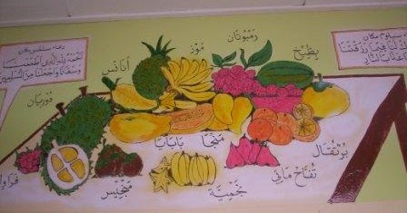 Blog khat batu pahat johor mural gambar buah buahan dan for Mural yang cantik
