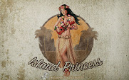 Fondo de pantalla Pin-Up Islan Princess | Grunge | Wallpaper