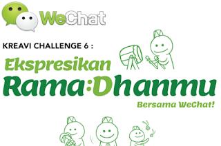 Kreavi Chalenge 6 : Ajang Lomba Desain Emoticon for WeChat