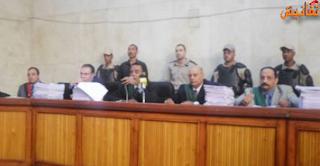 السجن لـ 9 امناء شرطة لاقتحامهم مقر نيابة بسوهاج