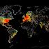 Um mapa de todos os equipamentos do Mundo conectados à Internet