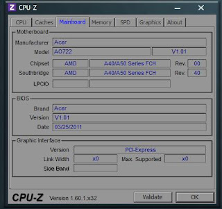 CPU-Z 1.61 32 DAN 64 BIT TERBARU FREE
