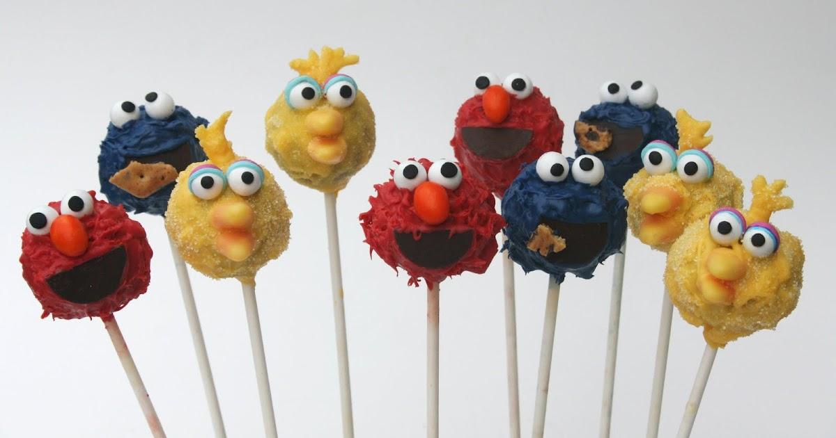 Easy Sesame Street Cake Pops