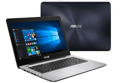 ASUS A456, Notebook Elegan dengan Intel Skylakedan USB Type C