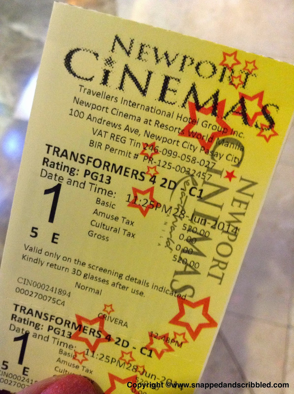 What To Do In Resorts World Manila: Watch Movie At Newport Cinema Ultra 1