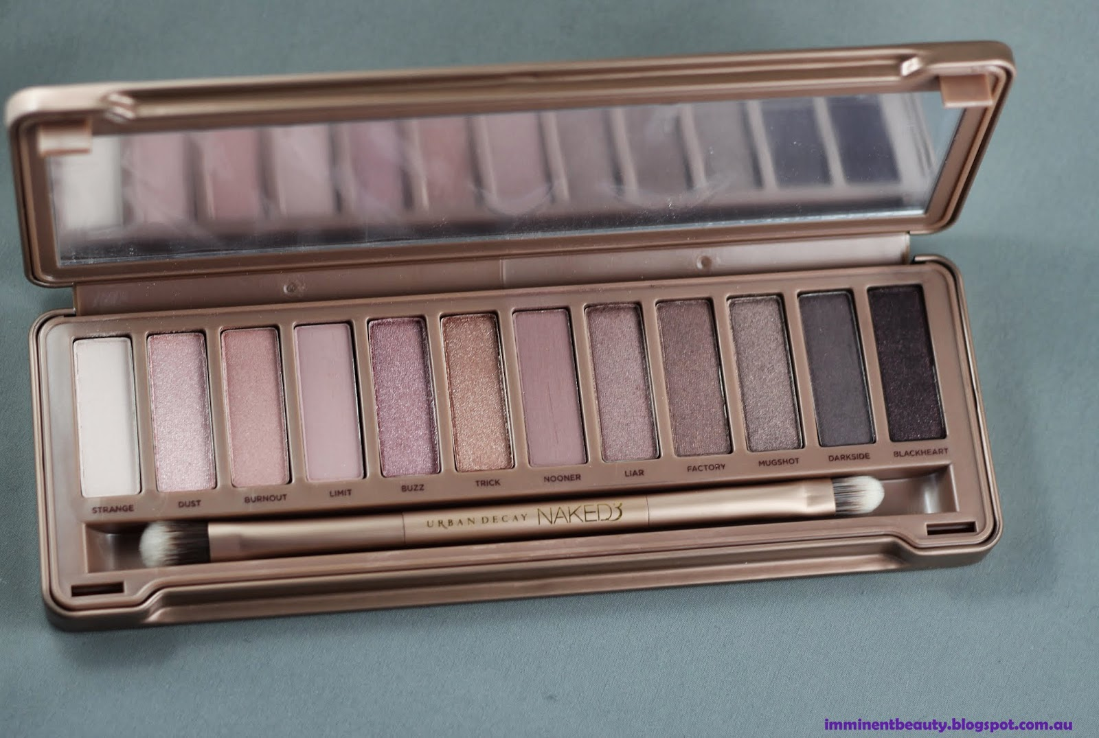 Palette, Eyeshadow, Neutrals, Pink tones, Urban Decay, Naked 3,