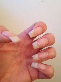 My naked nails