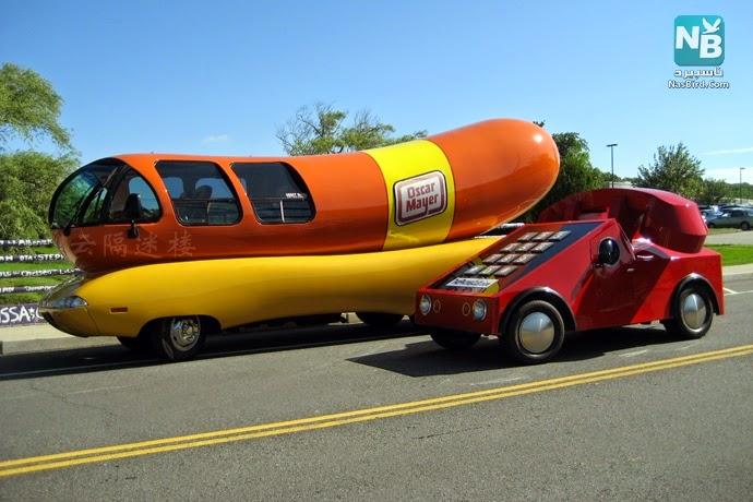 صور سيارات معدلة بطريقة غريبة ومضحكة