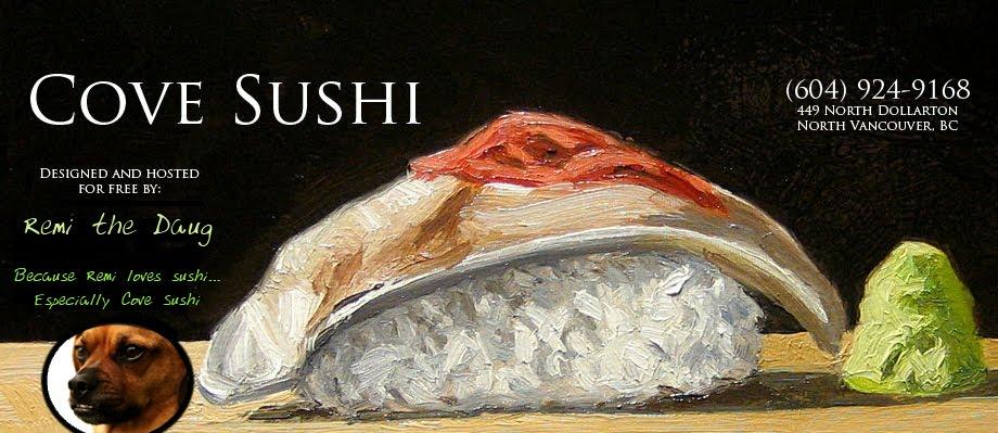 Deep Cove Sushi, Cove Sushi