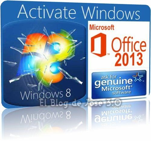 Activador windows 8 y 2013 permanente