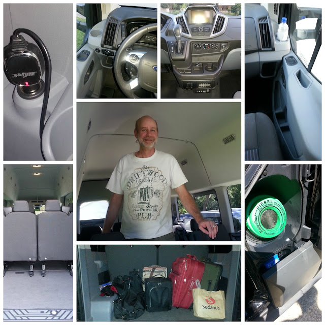 Ford Transit Babushka's Sweetie Florida Keys Trip