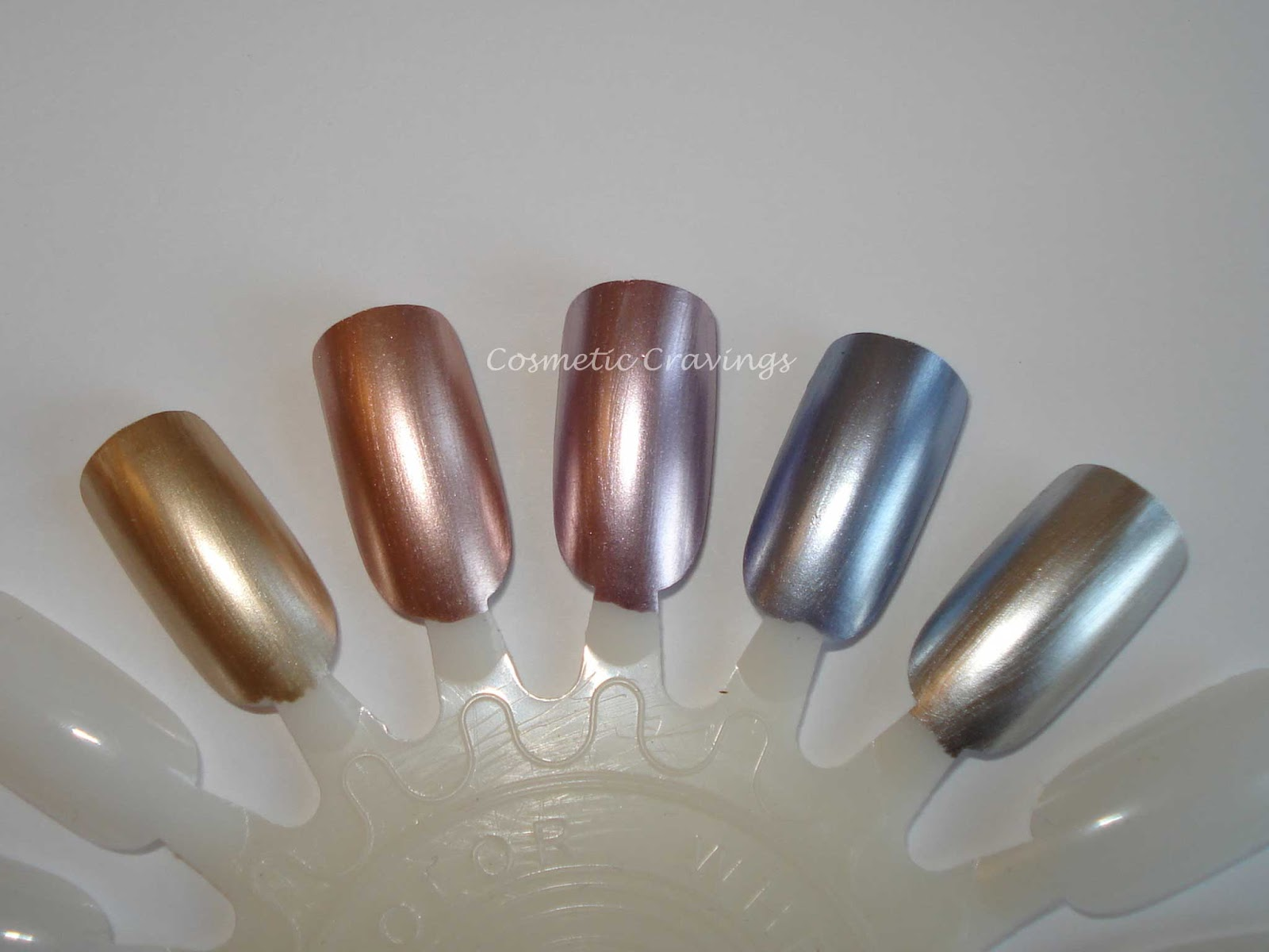 Cosmetic Cravings: Review: Essie Mirror Metallic Collection