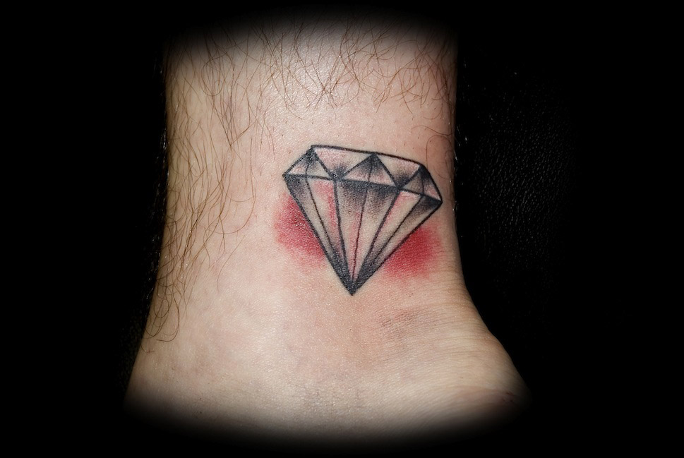 diamond tattoo3d tattoos ForTattoos Of Diamonds