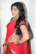 Sowmya glamorous half saree photos-thumbnail-15