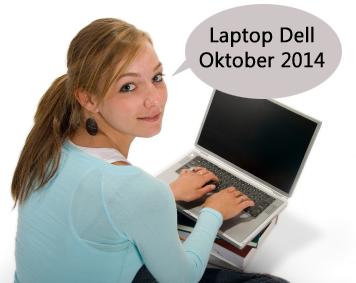 harga laptop dell terbaru oktober 2014