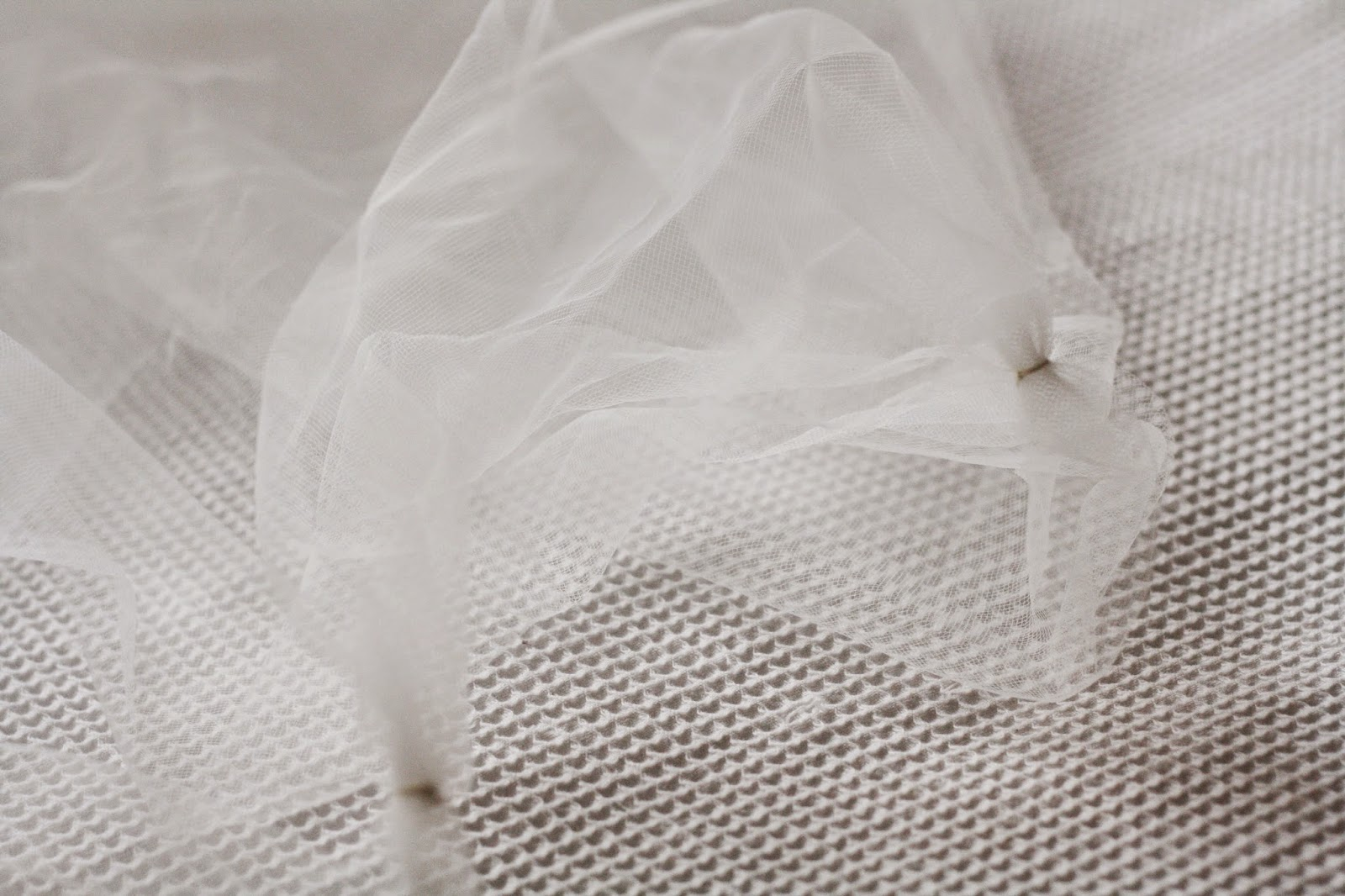 Wedding veil DIY