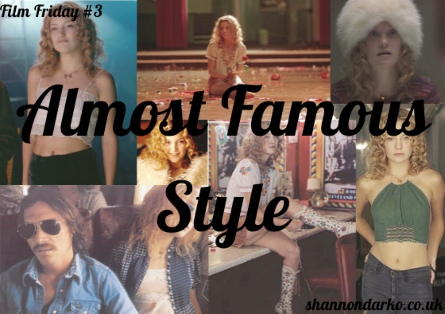 Almost Famous Fashion Inspiration Style Shannon Darko Penny Lane