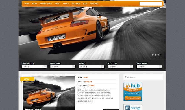 online-shop-free-wordpress-theme-car-download