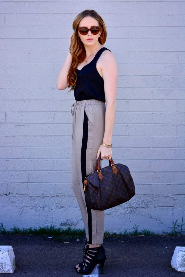 How To Style Track Pants- Varsity Trend- Lulus Track Pants-LA Personal Style Blogger- Spring Style-Ashley Murphy