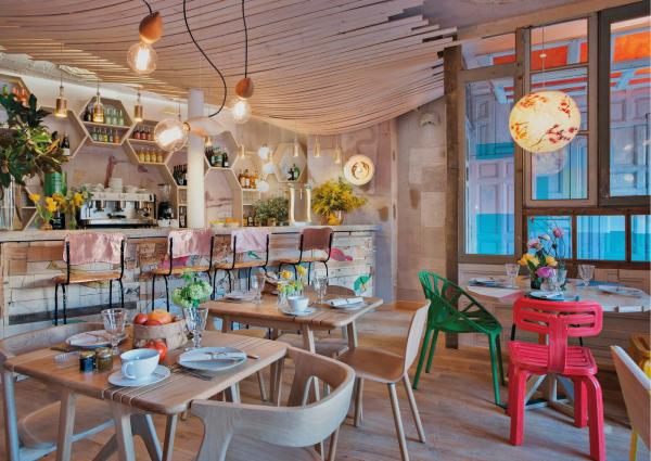 Mama campo il nuovo ristorante bio a madrid blog di for Arredamento in spagnolo