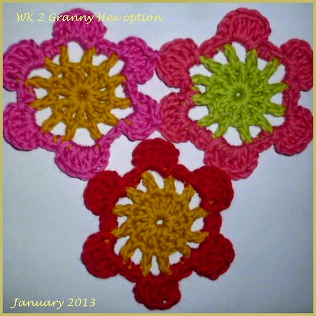 Week 2 Granny Hexagon
