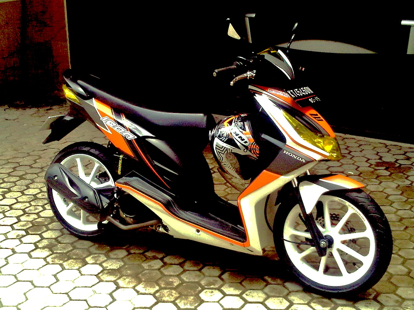 Gambar Modifikasi Motor Honda BeAT FI Terkeren 2016