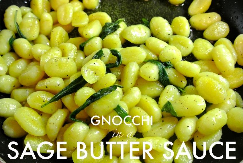 Ginger Rose: Gnocchi in Brown Butter Sage Sauce