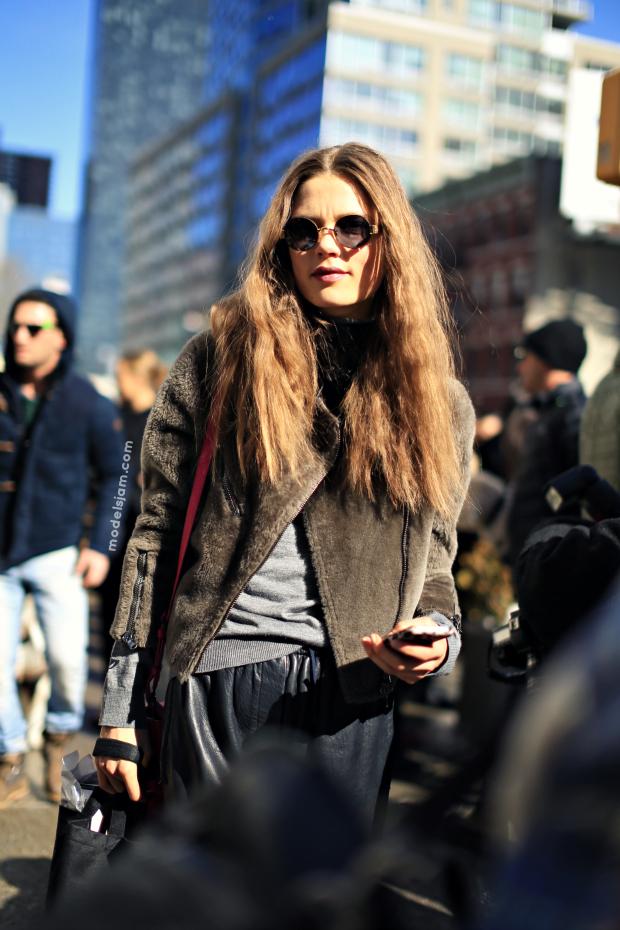Caroline Brasch Nielsen, New York, February 2013