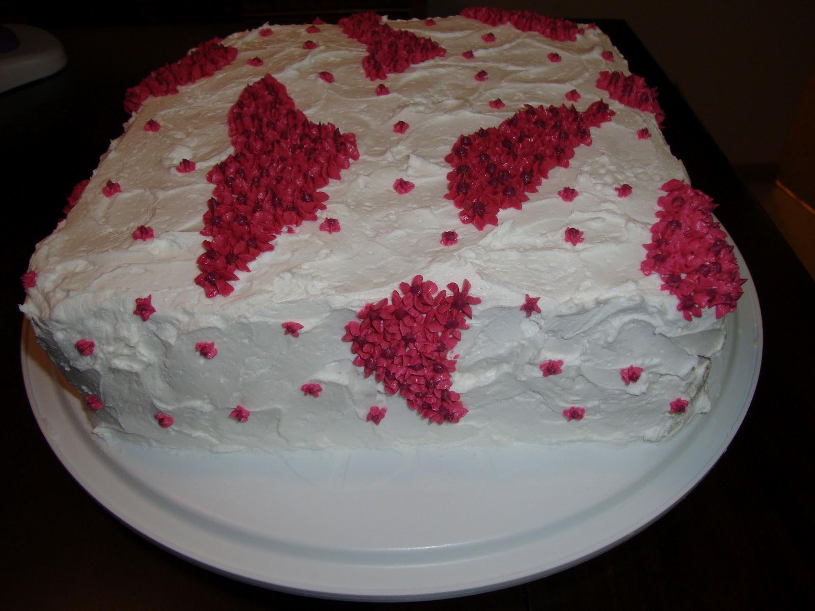 Half Moon Cakes An Elegant Birthday Cake For An Elegant Lady