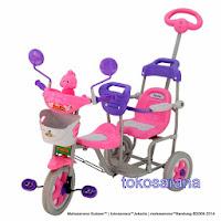 Sepeda Roda Tiga FAMILY F906 - Boncengan