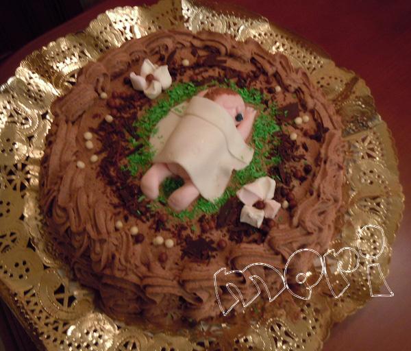 Las cositas de meri tarta de trufa y galletas de bautismo - Bollycao thermomix ...