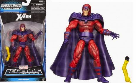 "X-Men Action Figures Toys ""R"" Us exclusive, Stryfe, Marvel Now Cyclops, Marvel Now Storm, classic Magneto, Wolverine, Jubilee"