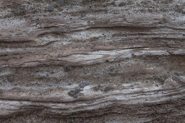 Wavy rock wall texture