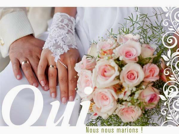 Carte faire part mariage gratuit imprimer