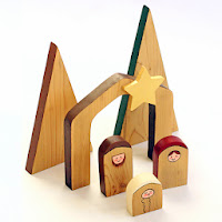 http://dabblesandbabbles.com/simple-wooden-nativity-scene/