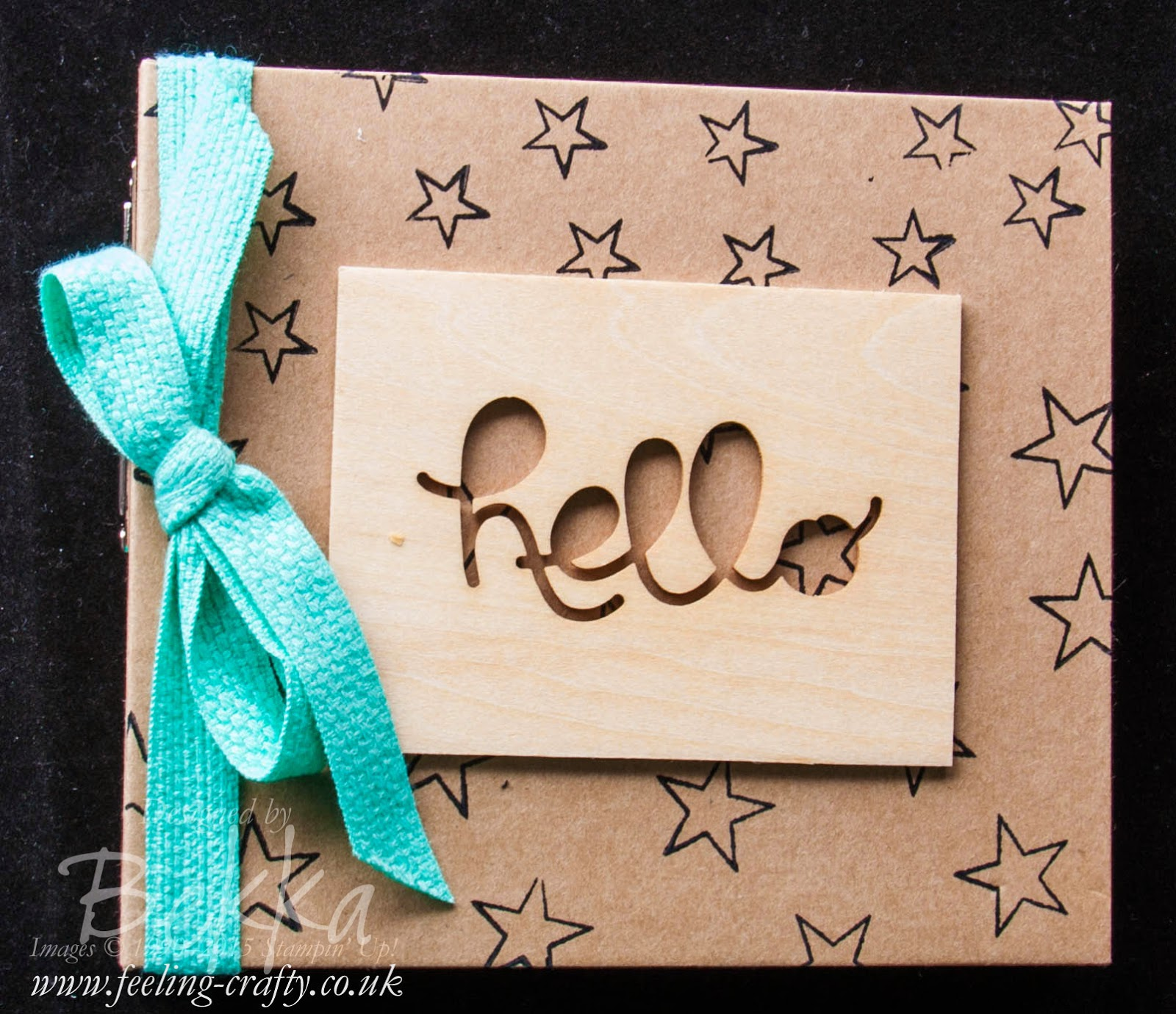 Orlando So You Mini Album - Check it out here  Independent Stampin' Up! UK Demo Bekka's visit to Orlando Leadership