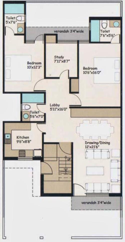 Wave City Floor Plan 4