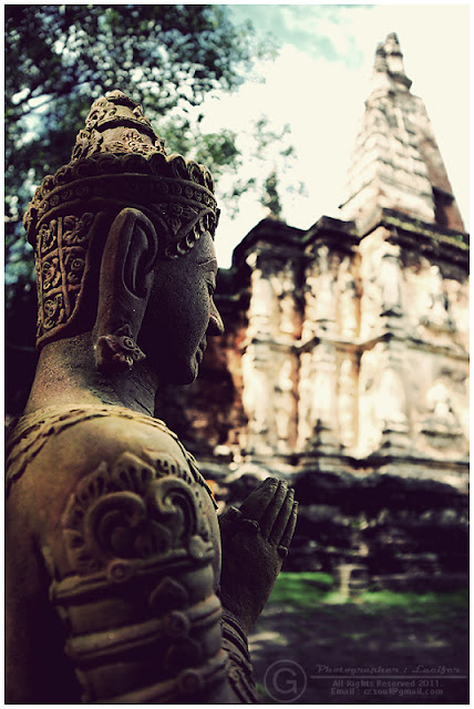Photograph Pray Chiangmai Thailand