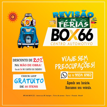 Inaugurou em Turvo, Box66 Centro Automotivo – Anexo ao JR Antigos
