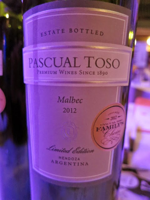 Wine Review of 2012 Pascual Toso Malbec Limited Edition from Mendoza, Argentina