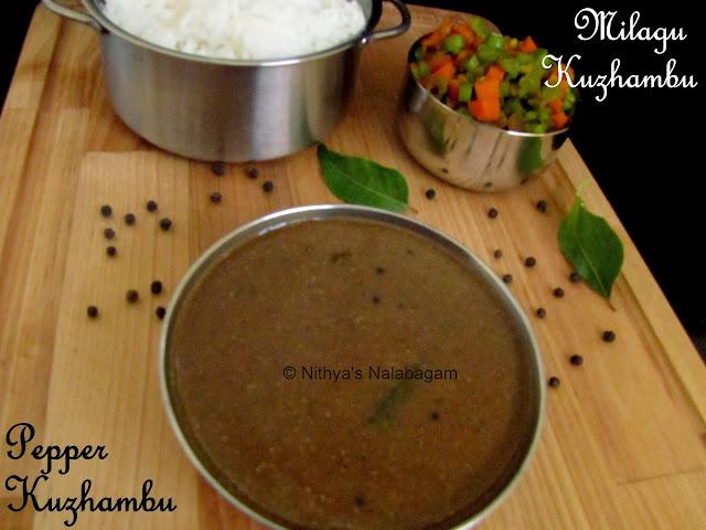 Milagu Kuzhambu | Pepper Kuzhambu