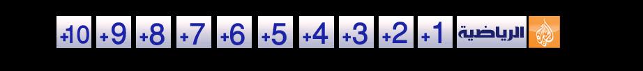 الجزيرة الرياضية | بلس +1 , +2 , +3  , +4  , +5  , +6  , +7 , +8  , +9 , +10