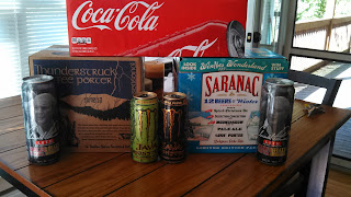 the Ripening, Drinking Only Water, beverages, coca cola, arnold palmer, monster energy, beer